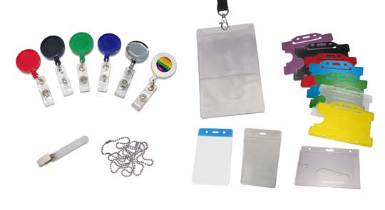 identity badgeholders and clips