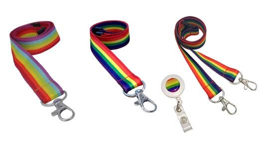 pride lanyards