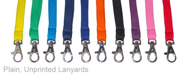 Plain Lanyards UK
