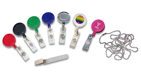 badge reels and accessories
