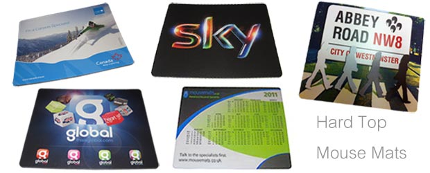 Promotional Hard Top Mousemats