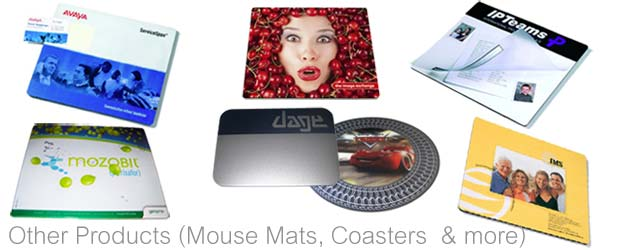 Promotional Mouse Mats - Full Range