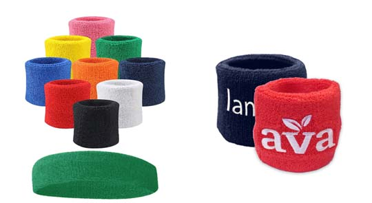 custom sweat bands